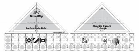 Ruler CGR 90 degree Dbl Strip