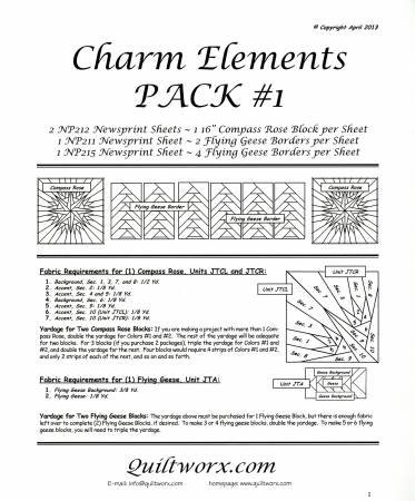 *Judy Neimeyer Charm Elements Pack 1