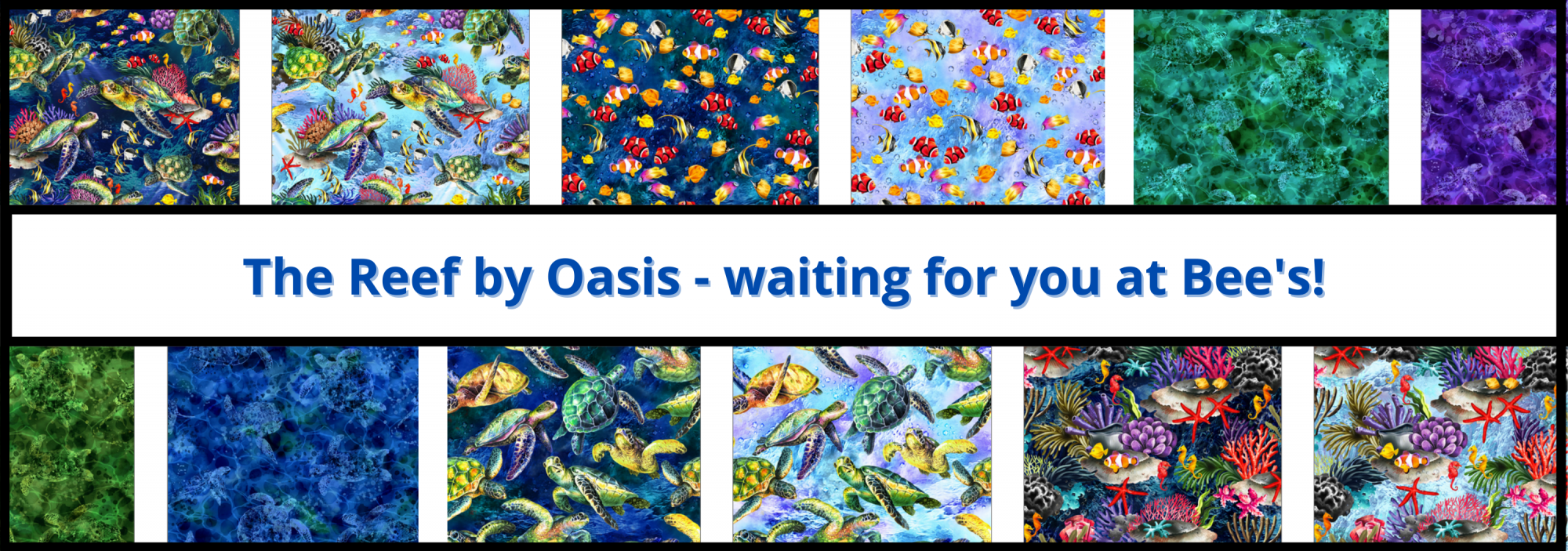 bee's quilt shop st augustine oasis fabrics the reef