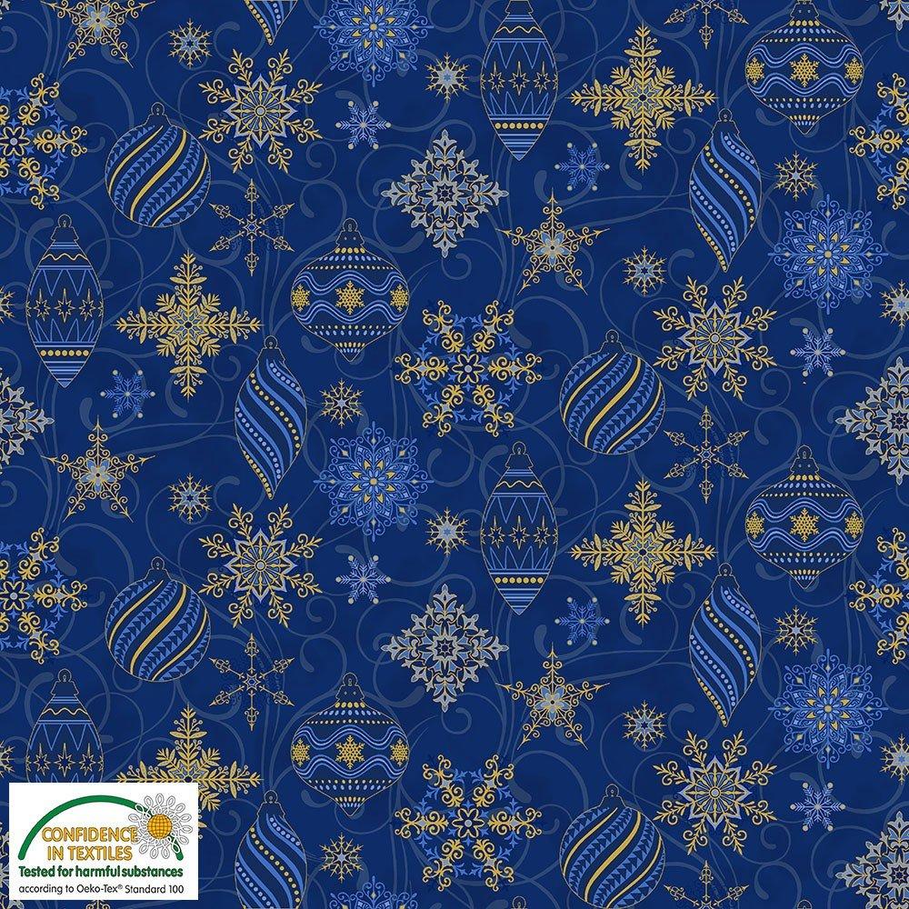 4596 001 blue snowflakes
