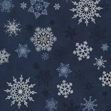 metallic blue snowflakes 4596-600