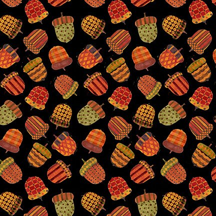 9603-99 Black acorns