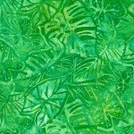 KAU Island Green Leaves Batik