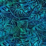 KAU Ocean Leaves Batik