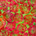 KAU Island Green Hibiscus Batik