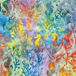KAU Rainbow Seahorse Batik