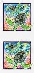 KAU Tropical Painted Panel Sea Turtle