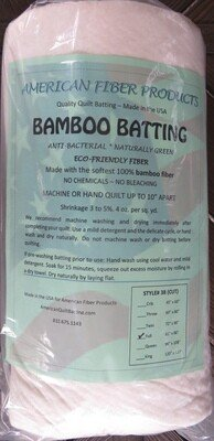 Bamboo Quilt Batting Full
