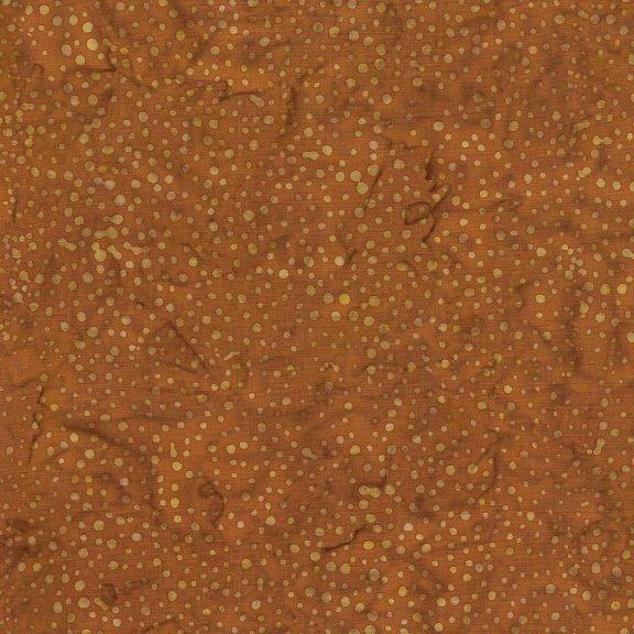 Island Batik Bubbles Copper