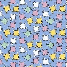 CL Blue Teapots 8795 70