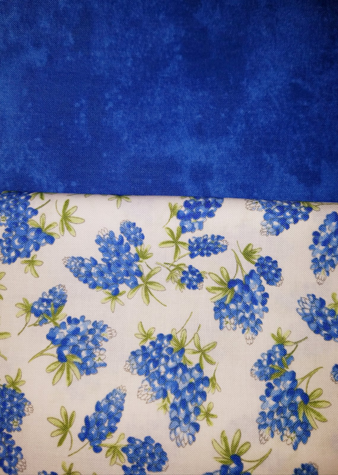 Time To Quilt Block One - Floral