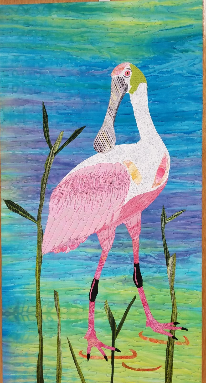 SpoonBill Wall Hanging Kit - Shelly Grappe Instructor