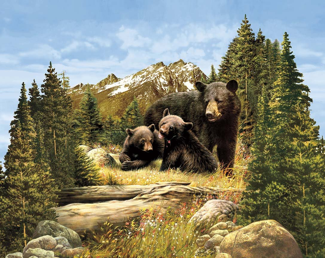 Majestic Bear Panel