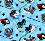 Sports Hockey Equipment 137 Blue