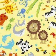 Animals C5779 Yellow