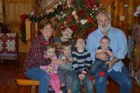 Steve, Lori and Fabulous Five Christmas 2014