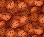 Orange Packed Basketballs 221 Orange
