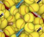 Sports Softballs 426 Yellow