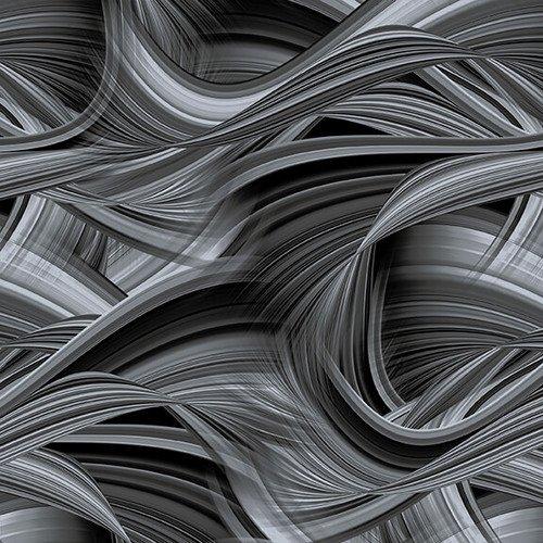 Sedonawave Charcoal Wave Texture 9537-95