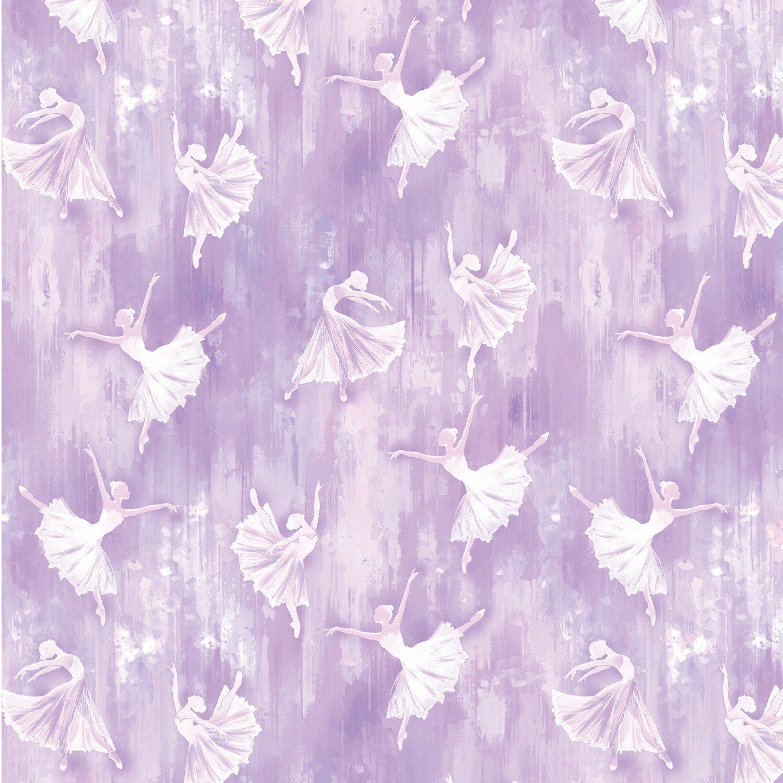 Pearl Ballet Ballerina Silh Lilac 9837P06