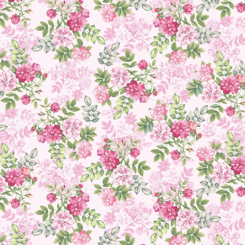 Pearl Ballet Floral Romance Pink 9838P02