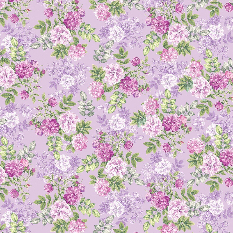 Pearl Ballet Floral Romance Lilac 9838P06