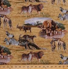African Animals 5015 multi