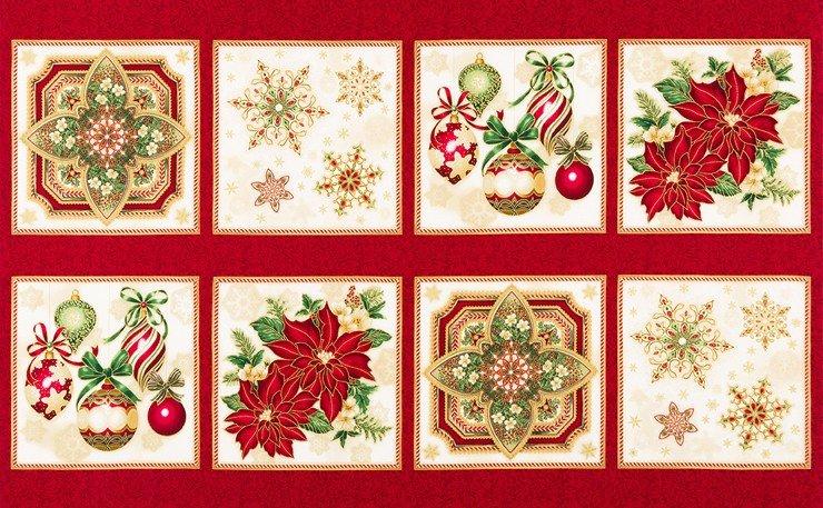 Holiday Flourish 10 Metallic Panel APTM-16562-223