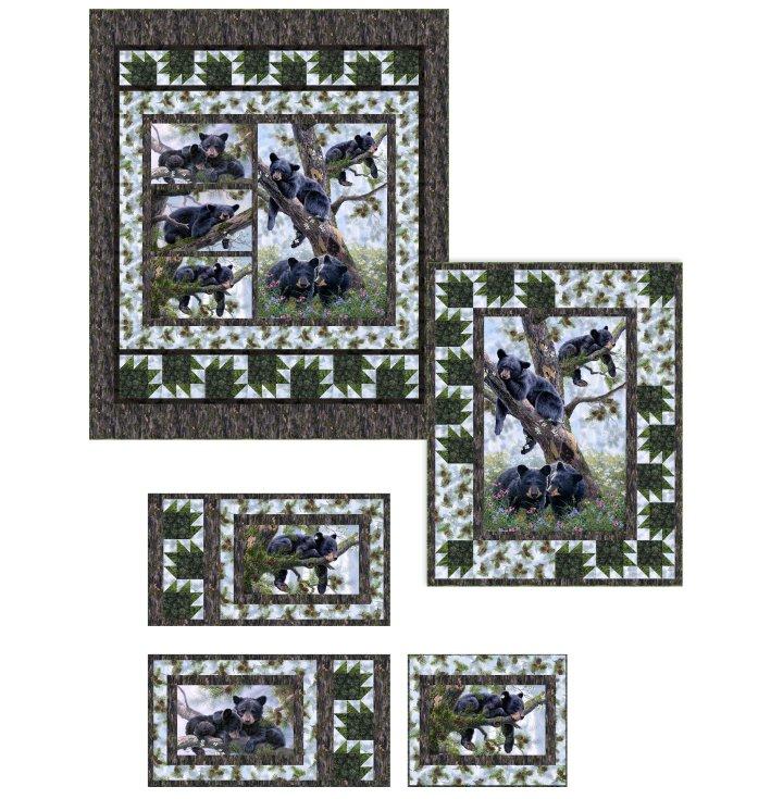 Slumber Bears Quilt Pattern PTN2556