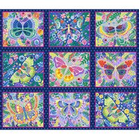 Wonderland Butterfly Blocks 1396 77