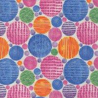 Wonderland Pink Circles 1404-22