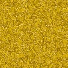Accent of Sunflowers Butterfly Fields Gold 10217 34
