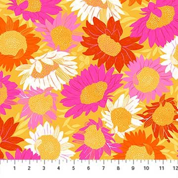 Flora Sunflowers Yellow 90145-52