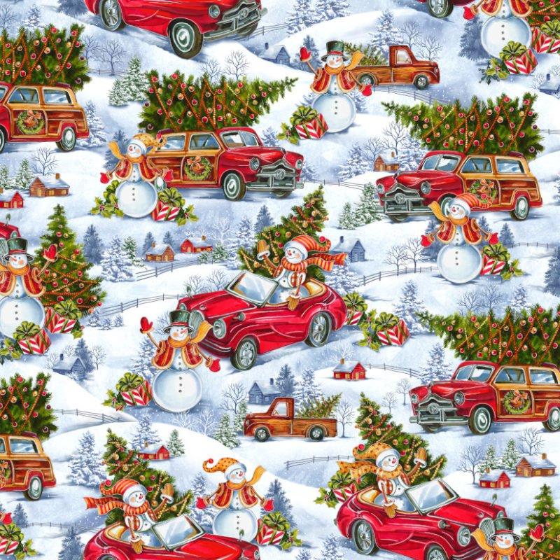 Noel Snowmen Metallic 5925302