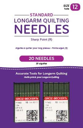 Long Arm Needle Standard 12/2 pack QM00239-2