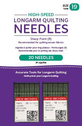 Long Arm Needle High Speed 19/2 Pk QM13258-2