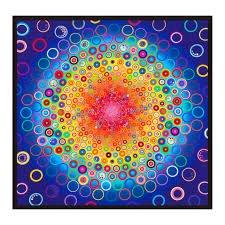Effervescence Digital Panel Rainbow AAQD-18161-263