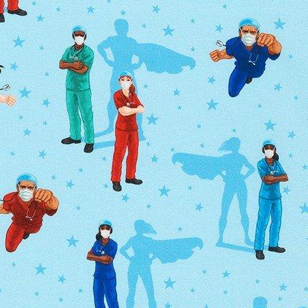 Frontline Heroes SRK-20335-4 Blue