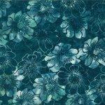Bali Batik graphic floral bayou