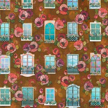Happy Place Window Terracotta WELD-19455-92