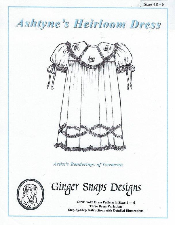 Ashtyne's Heirloom Dress