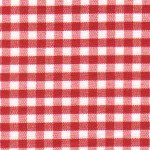 1/8 Berry  Gingham Check