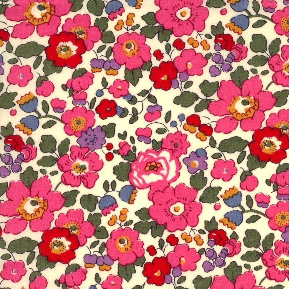 LIberty 2- Liberty of London Betsy Tana Lawn Pink