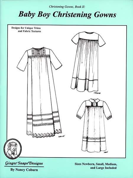 Baby Boy Christening Gowns II