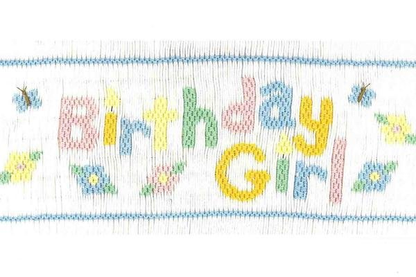 Birthday Girl Design Plate