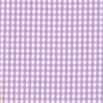 1/8 Lilac Gingham Check