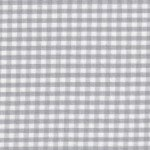 1/8 Silver Gingham Check
