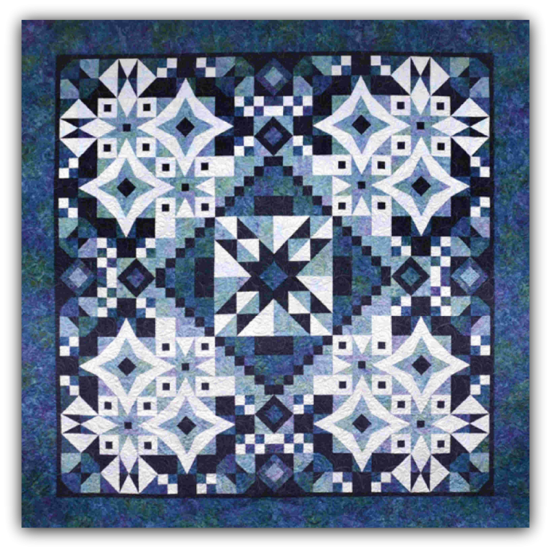 Asteria Block Of The Month Simple Block Of The Month Quilt Patterns