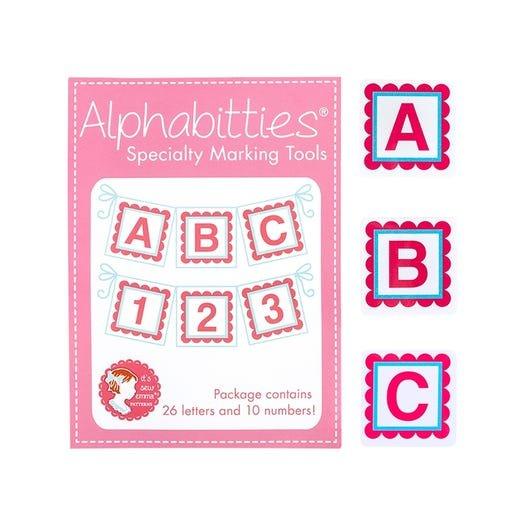 Alphabitties - Pink