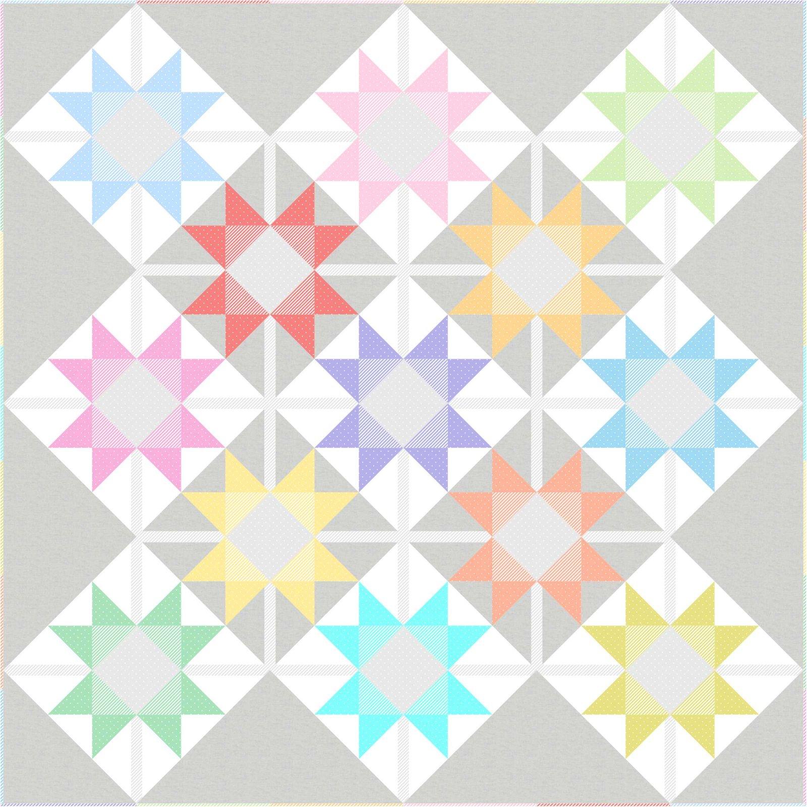 Sugar Stars Pattern